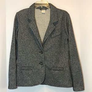 HP!  Allison Joy knit sweater blazer/jacket EUC